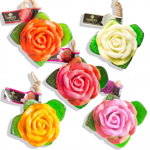 Rosen rot + weiß + rosa + orange + violett